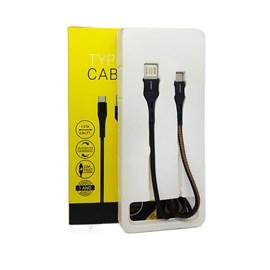 Cabo new tex type-c com usb reversível 1.2m mr
