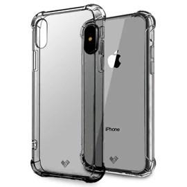 Capa acrílico + tpu shockproof para iPhone XR - fu