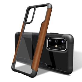 Capa arm Loft couro Samsung S20 plus mr