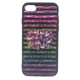 Capa metallic stripes iPhone 7-8