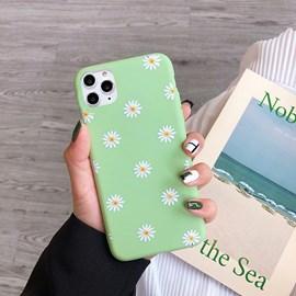 Capa premium silicone daisy iPhone 11 Pro vd.
