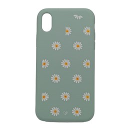 Capa premium silicone daisy iPhone XR vd