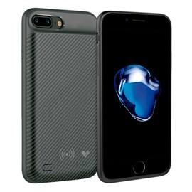 Case bateria carbon wireless iPhone 7 plus 3650 ma