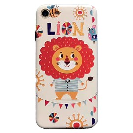 Case tpu iphone 7-8 lion