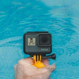 Grip de mão flutuante para câmera de ação am