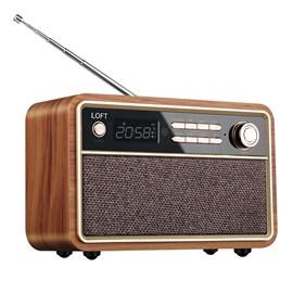 Rádio Retrô D29 Madeira Clara